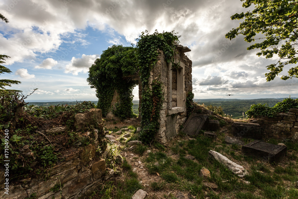 Fototapety, obrazy: ruins of an ancient chapel