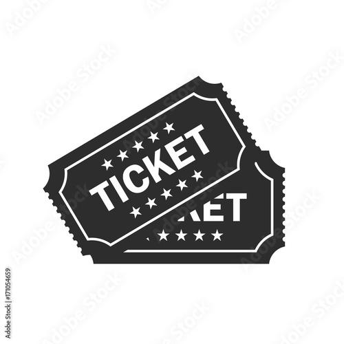 Fotografía  Ticket vector icon