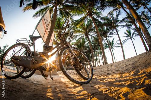 Fotobehang Fiets bicicletas