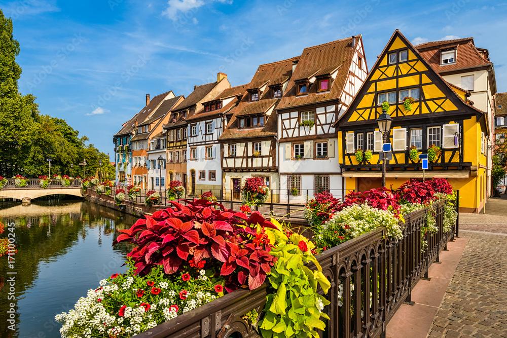 Fototapeta Old town of Colmar, Alsace, France