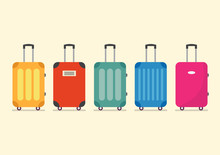 Travel Luggage Set For Vacation And Journey