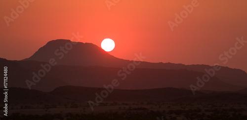 damaraland-sunset