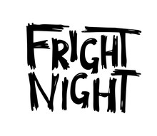Fright Night. Halloween Hand D...