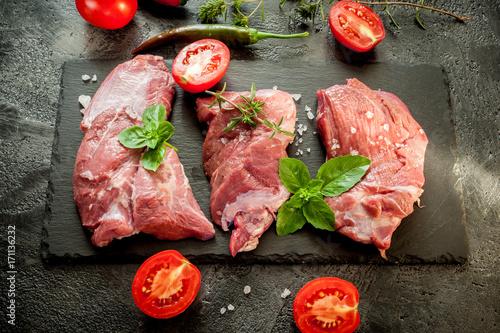 Fototapeta Steaks beef obraz na płótnie