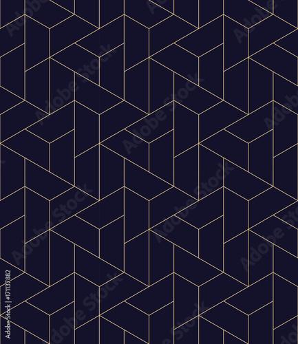 Photo  simple seamless geometric grid vector pattern