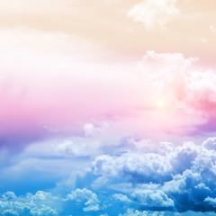 Fototapeta Niebo Sky colors air clouds