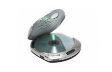 Portable Cd Player Isolated On...