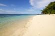 beautiful beach in Birie island, Batanta, Raja Ampat, Indonesia