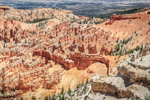 Tuinposter Canyon Amazing Hoodoo in Bryce Canyon National Park, USA