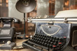 Original vintage office from 1940's