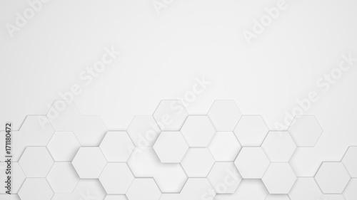 Photo  Hexagon Waben Muster als Hintergrund