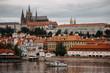 Vltava river in Prague, Czech Republic at the daytime