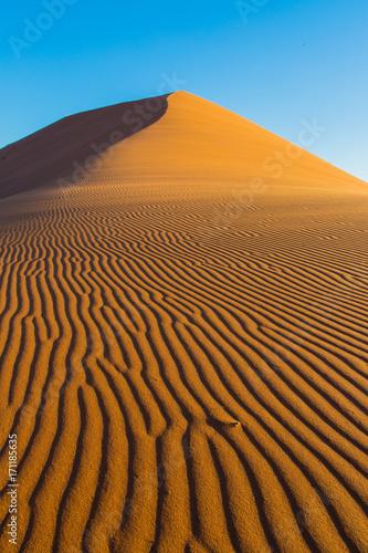 Fotografie, Obraz  Sand ripples at Sossusvlei Namibia
