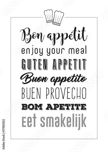 bon-appetit-plakat-z-napisami-smacznego-w-wielu-jezykach