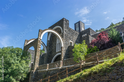 Basilica of Meritxell, located in Andorra Canvas Print