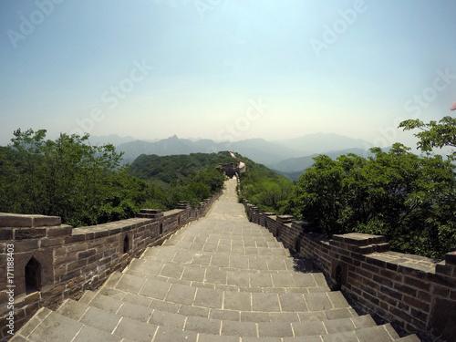 Fotografie, Obraz  The Great Wall of China - Jiankou Section