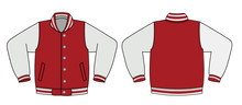 Illustration Of Varsity Jacket