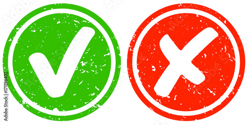 Retro Haken grün und Kreuz rot Canvas-taulu