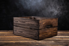 Empty Wooden Crate