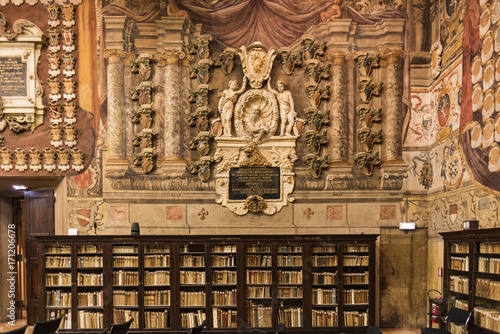 The Archiginnasio library of Bologna Slika na platnu