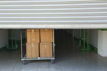 Entrance Into Self Storage Uni...