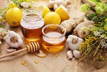 Honey, Garlic, Lemon, Herbs An...