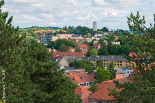 Photo Stands Kiev Town of Naestved in Denmark