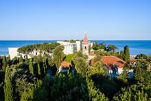 Sveti Andrija Island, Also Red Island Near Rovinj, Croatia