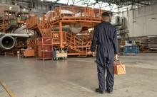 Male Aircraft Maintenance Engi...