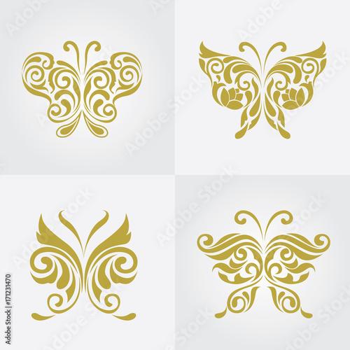 Zdjęcie XXL logo motyla