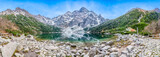 Fototapeta Mountains - Morskie oko zimą, panorama