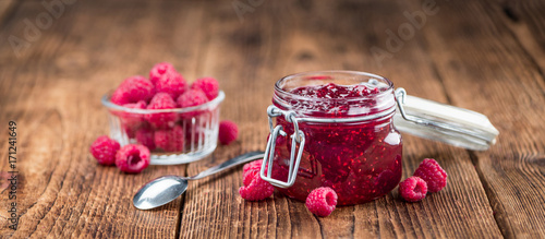 Fresh made Raspberry Jam