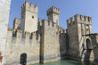 Scaliger castle - the 13th century fortress in Sirmione, Lake Garda,Italy