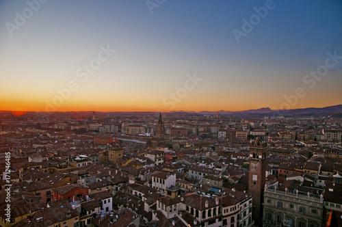 Fototapeta Tramonto a Verona obraz na płótnie