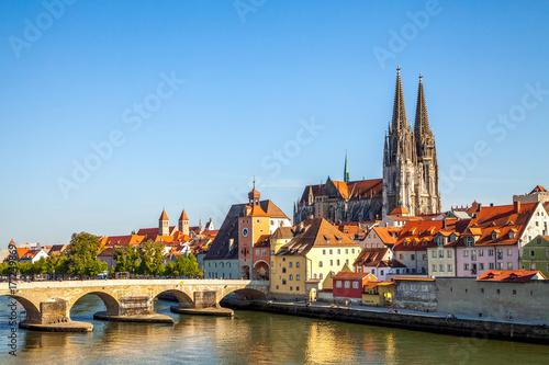 Foto auf AluDibond Europäische Regionen Regensburg