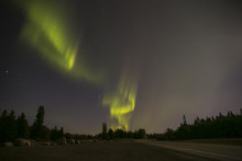 Northern Lights In Winnipeg