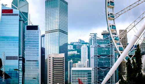 Zdjęcie XXL Hongkong widok na miasto