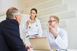 Ärzte beraten mit Kompetenz