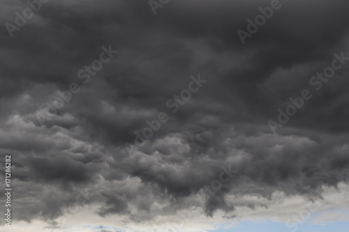 Canvas Prints Heaven Rain clouds, a dramatic backdrop