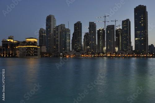 Plakat Dubaj, Zjednoczone Emiraty Arabskie