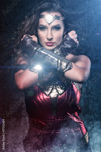 Photo  Beautiful wonder woman