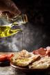 catalan pa amb tomaquet with serrano ham