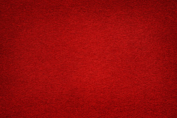 Dark red felt table surface with light center