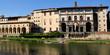 Blick auf die Uffizien vom Südufer des Arno