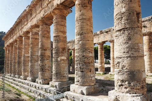 Fotografie, Obraz  Old greek time temple in Segesta, Italy