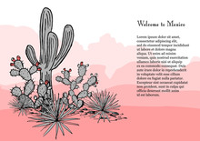 Cacti Group. Prickly Pear Cact...