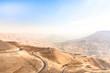 Jordanien, Amman Gouvernement, Um Al-Rasas Sub-District, Das Wadi Mujib (Wadi Mudschib) ist eine Schlucht im Bergland Jordaniens östlich des Toten Meeres