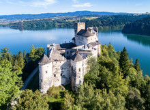 Poland. Medieval Castle In Nie...