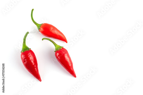 Tuinposter Hot chili peppers Small chilli pepper