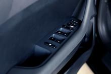 Black Car Dashboard